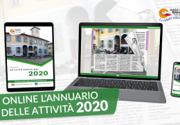 Pubblicato l'annuale libretto delle attività svolte nel 2020