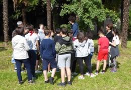 A lezione di botanica nei giardini di Villa Venino e Casa Testori - Anno scolastico 2017-2018